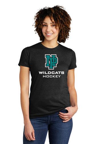 NP Wildcats-Women's Allmade Recycled Short Sleeve Shirt-NP Logo