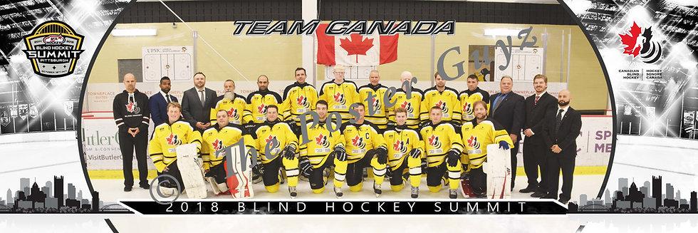 Blind Hockey Team Canada
