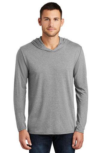 PREden-Men's District Long Sleeve Hooded Shirt