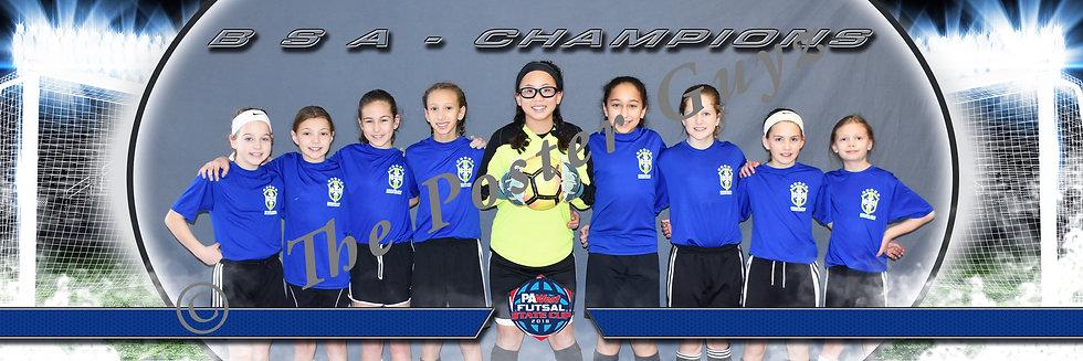 BSA u11G Champions