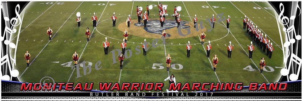 "Moniteau ""Warrior"" Marching Band version 1"