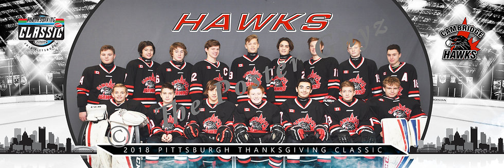 Cambridge Hawks Bantam Mixed NC 1