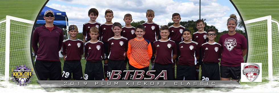 BTBSA Boys U12 Bronze