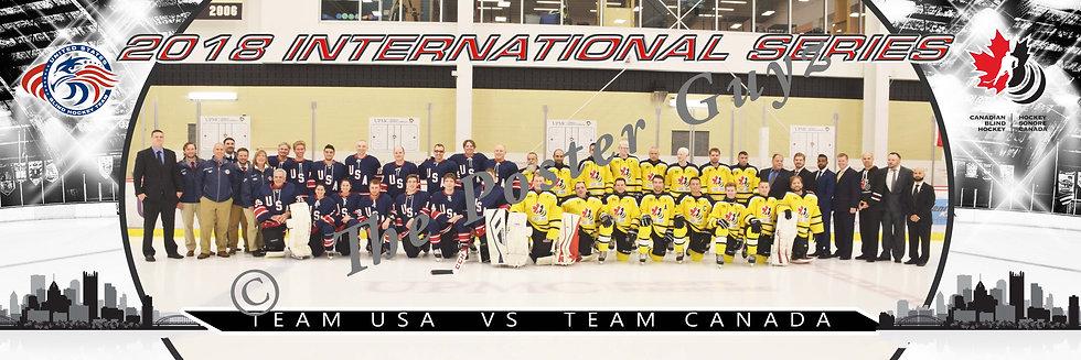 Blind Hockey International Series - Team USA & Team Canada