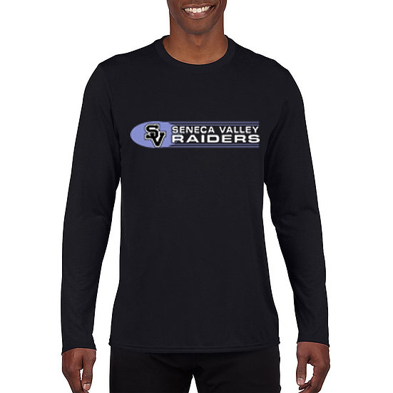 Black Long Sleeved t-shirt with SV Raiders design