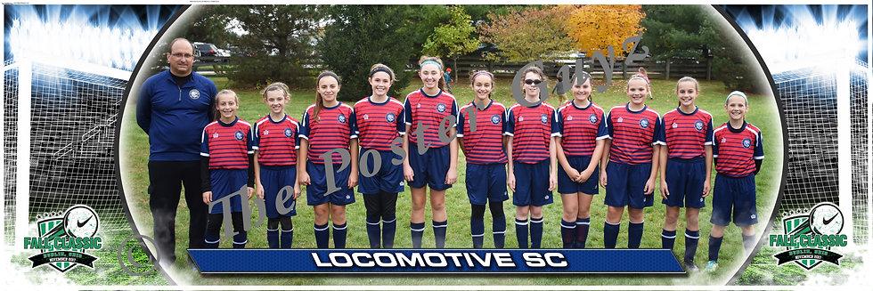 Locomotive SC LSC U12G Blue Girls U12