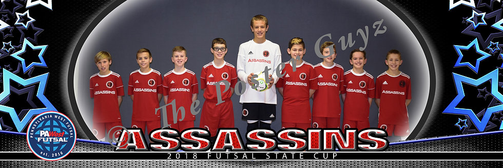 Assassins 07 Boys Red u12B