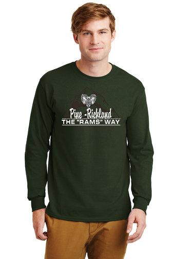 PRHance-Long Sleeve Shirt-Mountain Logo