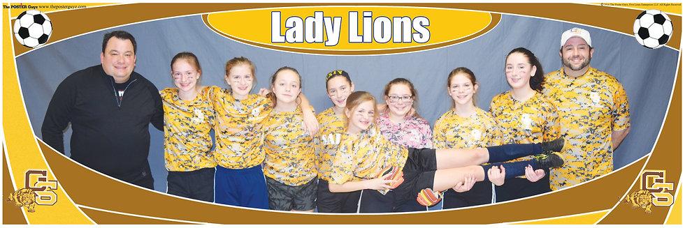 Lady Lions u14G Funny