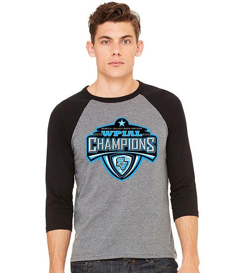 ¾ Sleeve Baseball Shirt