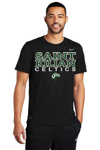 SaintKilian-Nike Performance Short Sleeve Shirt