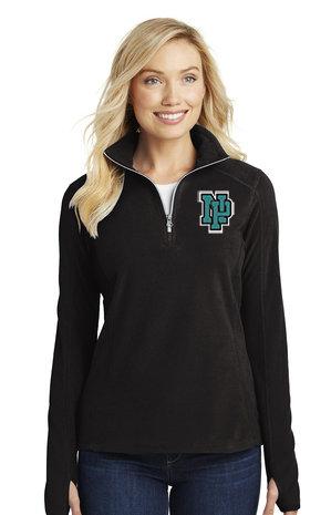 NP Wildcats-Women's Quarter Zip Fleece Jacket