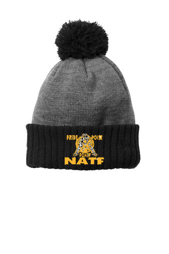 NATF-New Era Pom Beanie