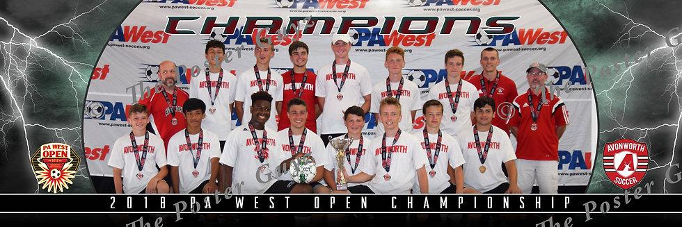Avonworth 1999B Angell U20B Champions