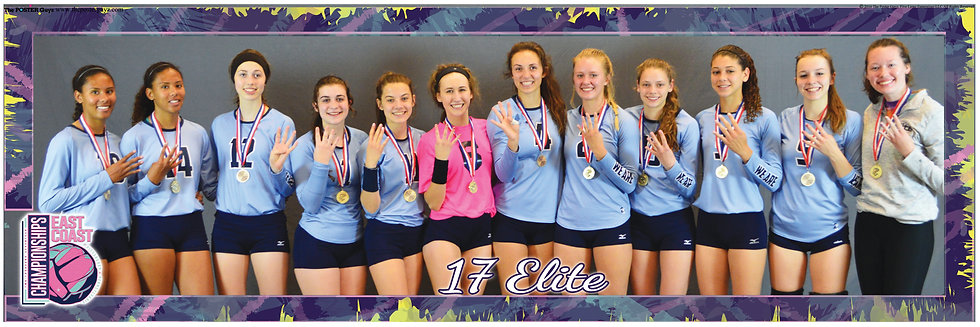 17 Elite With Gold Medals - 4 Fingers