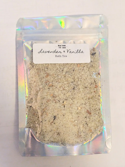 Lavender & Vanilla Bath Tea