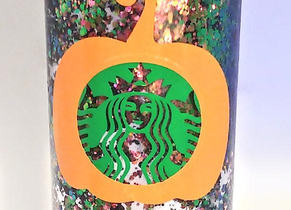 Pumpkin Starbucks Inspired Tumbler