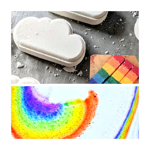 Rainbow Bath Bomb 🌈