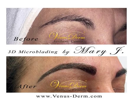 Microblading 3D Realistic Eyebrows