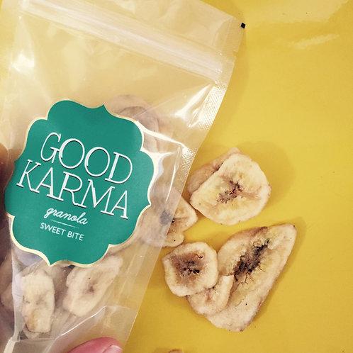 Banana Chips (a mesma da granola de cranberry)