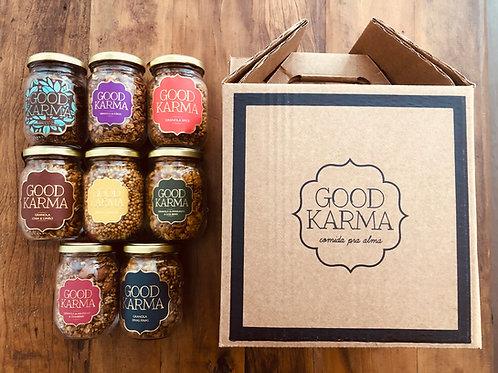 Good Karma Gift-  7 sabores diversos para Presente