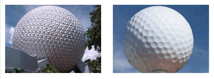 Epcot/ Golf Ball