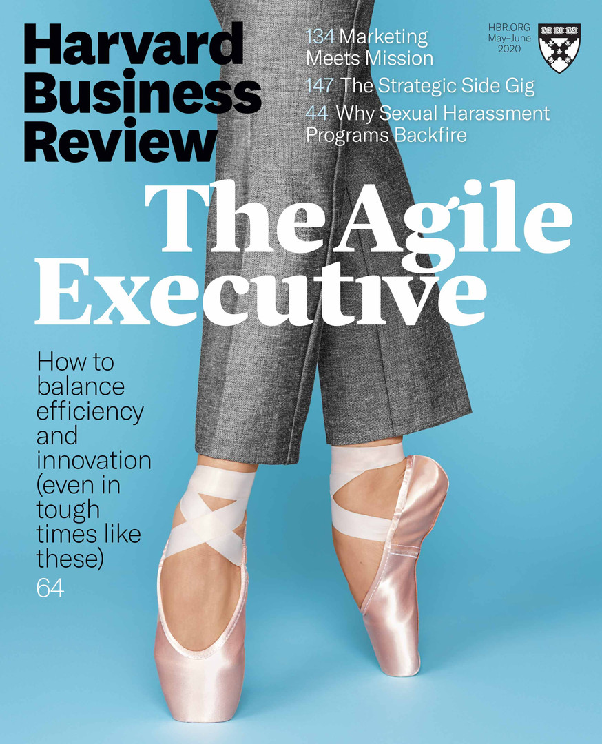 HBR: May-June 2020 Cover