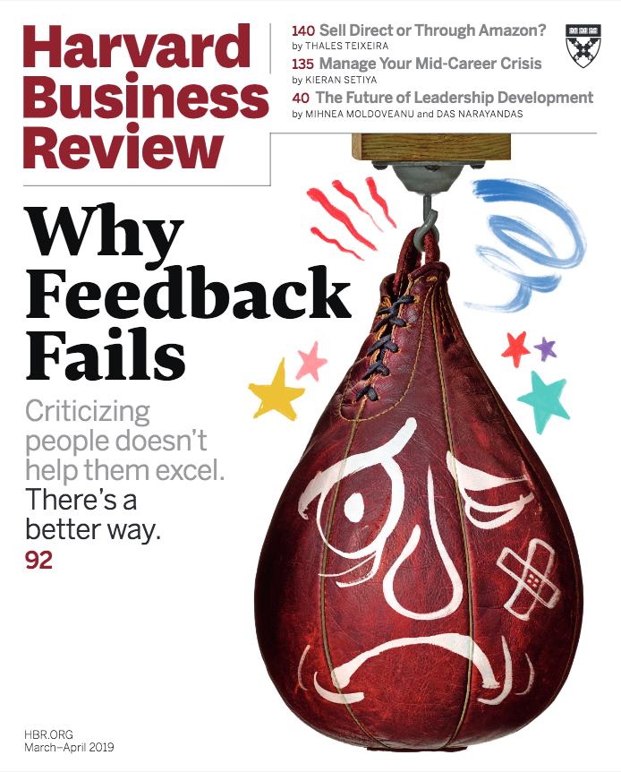 HBR: January-February 2019 Cover