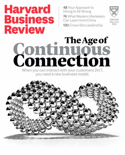 HBR: May-June 2019 Cover