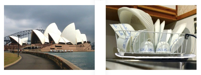 Sydney Opera House/ Dishes