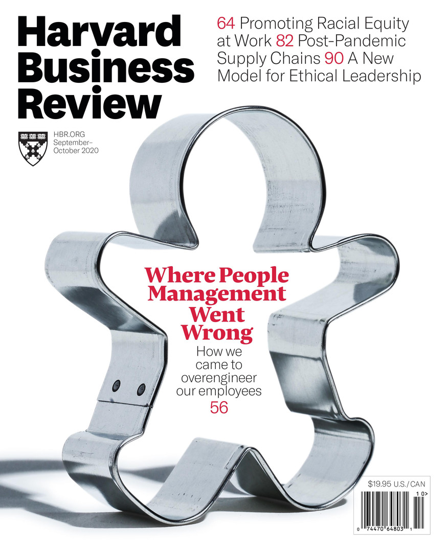 HBR: Sep-Oct 2020 Cover