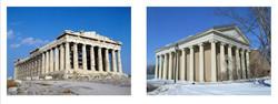 Parthenon/ Library Bard College