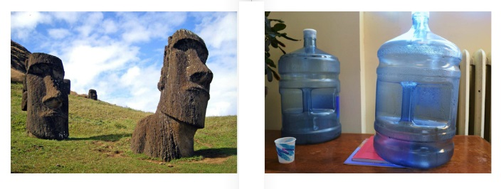 Easter Island/ Water Jugs