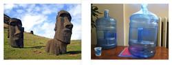 Easter Island/ Water Jugs