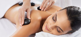 hot stones spa treatment