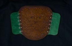 Green Man Bracer