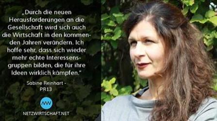 Sabine Reinhart im Interview mit netzwirtschaft.de