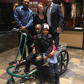 Antone from Las Vegas Receives Adaptive Bicycle
