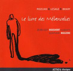 Album Le livre des mélancolies