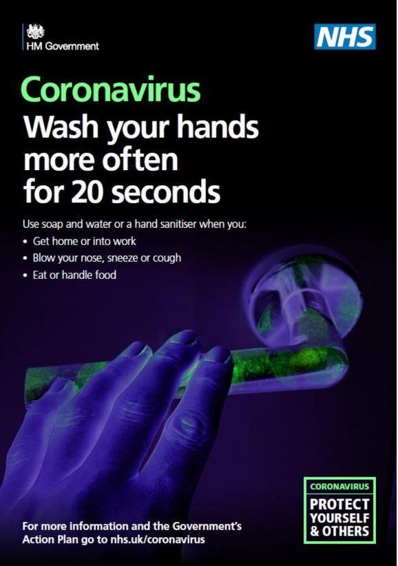 Data Driven Hand Hygiene