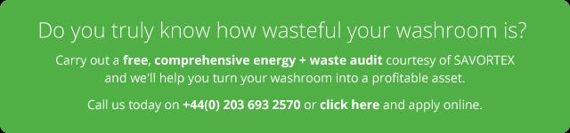 Waste and energy audit courtesy of SAVORTEX