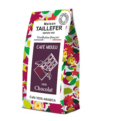 Café moulu saveur chocolat