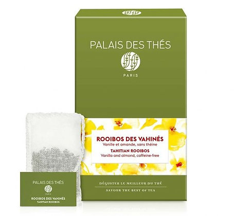 Rooïbos des Vahinés, Palais des thés.