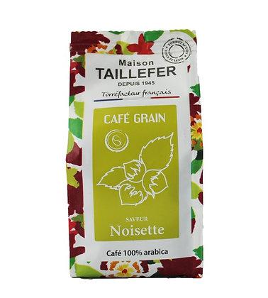 Café saveur noisette en grain