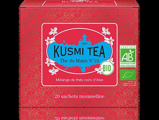 Thé noir du matin N°24 Bio, Kusmi Tea à partir de