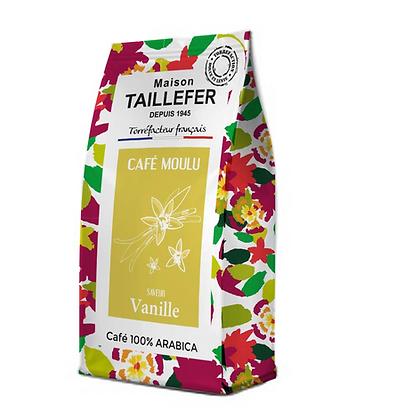 Café moulu saveur vanille