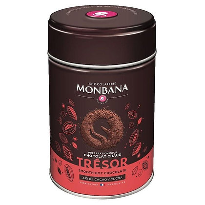 Chocolat en poudre Trésor de cacao, Monbana.