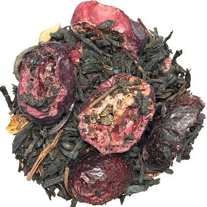 Thé noir Petit chaperon rouge, à partir de 50g.