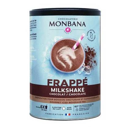Milkshake chocolat Monbana, pot 250gr.
