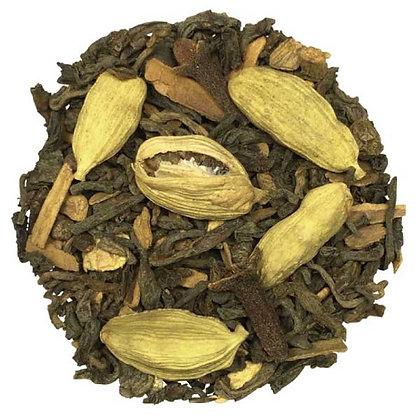 Thé noir Chaï Tea Pu-Erh, à partir de 50g.